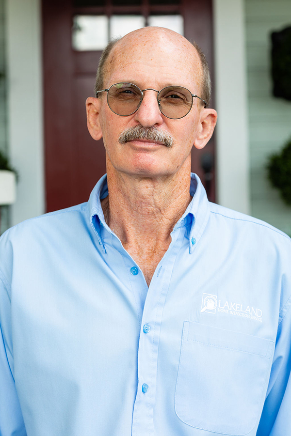 Bill Horner, one of Lakeland's home inspectors